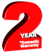 2yr Domestic Warrany