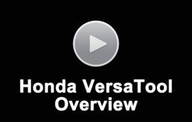 Honda Versatool Overview