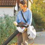 Integrated Shoulder Strap For Vacuum Bag