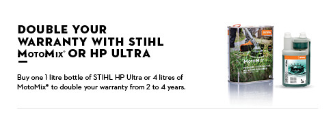 Stihl Double Warranty Sign 2