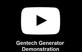 Gentech Generator Demonstration