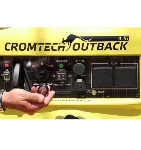 Cromtech Outback Generator 4.5kw Ctg4500ie 3