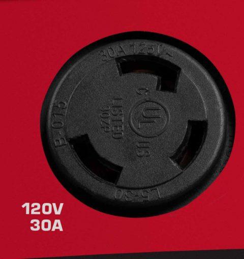 Briggs Inverter Parallel Kit Twist Lock Outlet 120v 30a
