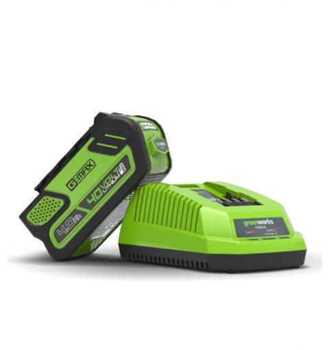 Greenworks 40v Charger 2931802au